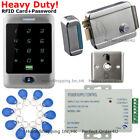 Waterproof RFID Card + Password Door Access Control System + Electric RIM Lock