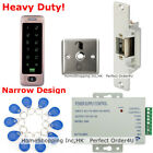 Waterproof RFID Card +Password Door Access Control+Door Strike Lock +Metal Exit