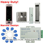 Waterproof RFID Card+ Password Door Access Control Sys+Magnetic Lock+ Metal Exit