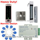 Waterproof 125KHz RFID Card + Password Door Access Control System+ Magnetic Lock