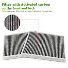 Cabin Air Filter JD819/CF11819 Included Premium Activated Carbon for Hyundai/GMC