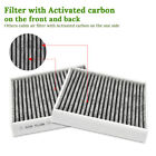 Premium Cabin Air Filter JD285/CF10285 include Activated Carbon for Toyota Lexus