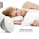 Multi functional Home 6 Color LED Wake Up Light Touch Mode FM Radio Alarm Clock