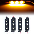 4Pc Yellow 12LED Strip Pod Panel Under Body Decoration Rock Light For Ford Truck