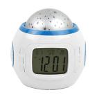 Alarm Clock Children Sleep Color Change Starry Night Sky Star Projection Music D