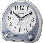 Rhythm clock alarm clock analog melody aria cantabile 38 quality sound Kyokudaka