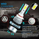 5D5D LED Headlight 9006/HB4 6000K 72W Front Lamp DC12V Replacement Universal