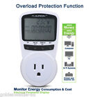 Programmable Power Meter Switch With Overload Protection Function US Plug