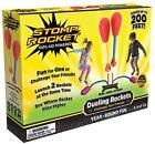 Stomp Rocket Dueling Rockets, 4 Rockets [Packaging May Vary]