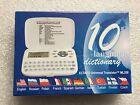 NEW ECTACO Universal Translator ML350 10 Language Dictionary