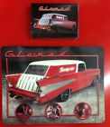 Snap On Tools Collectable GLO-MAD HOLOGRAM Mouse Pad Plus a Deck Of PLAYING CARD