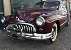 1947 Buick Roadmaster -- BEAUTIFUL1947 RED BUICK ROADMASTER SEDAN IN VERY NICE CONDITION, RUNS GREAT!!!