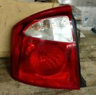 KIA SPECTRA 4-DOOR TAIL LIGHT DRIVER SIDE OEM BULBS AND WIRING 2005-2006