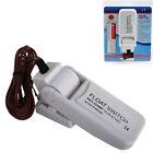 Bilge Pump Float Switch 12V 24V or 32V Fit For Boat Yacht White Ventilation Fine