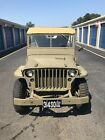 1945 Willys MB Canvas Willys MB WW2 Jeep 1945