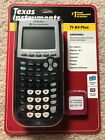 Brand New Sealed Texas Instruments TI-84 Plus Graphing Calculator Black Graphics
