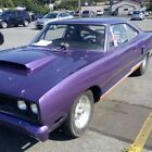 1970 Plymouth Road Runner Chrome 1970 road runner 300 miles since build 2nd owner plum  crazy custom paint job