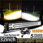 "OSRAM 32"" inch 1890W LED Light Bar Work Spot Flood Combo Beam 4WD Truck SUV Boat"