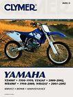 Yamaha YZ400 YZ426 WR400 WR426 1998-2002 Manuel Clymer M4912 Neuf