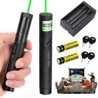 50 Miles 301-Green Laser Pointer Lazer Teaching Pen 1MW 532nm Light+Battery Hot