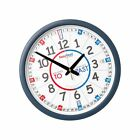 EasyRead Time Teacher Children's Wall Clock with simple 3-Step Teaching Syste...