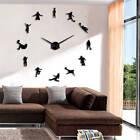 Football Sport Frameless DIY Giant Wall Clock Soccer Lover Coach Room Wall Décor