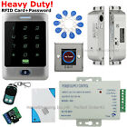Waterproof RFID Card+Password Access Control System+Drop Bolt Lock+Remote+Bell