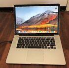 Macbook pro Retina Quad Intel Core i7 2.5GHZ  16GB  256 SSD LATEST OS X