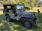 1948 Willys CJ2A  1948 Willy's CJ2A Jeep Original 70 Horse Go Devil Flat Head Engine