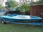 GM Vortec 5.9L Engine 350 V8, 1978 Hawaiian Speed Boat / Jet Boat with Trailer*1