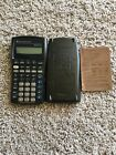 Texas Instruments BA II Plus Financial Calculator w/ Case and Reference Card