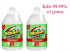 OdoBan 1 Gal Concentrate 2-Pack, Cucumber Melon Scent - Odor Eliminator, Disinfe