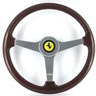 Genuine Momo 370mm wood steering wheel, Ferrari. 308 348 Mondial etc. Beautiful