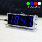 Best LED DIY Digital Electronic Micro Controller Kit Clock Time Thermometer US