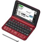 Casio Electronic Dictionary EX-Word XD-Z6500RD Red Learn Japanese Japan