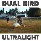 DUAL BIRD ULTRALIGHT - PLANS FOR HOMEBUILD - 2 SEAT ROTAX 503 TUBE-DACRON