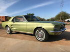 1967 Ford Mustang Sports Sprint 1967 Ford Mustang Coupe 289-4V 4 Speed, 1 Of 1, CA One Owner Car