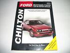 CHILTON 26604 Repair / Service Manual-Repair Manual