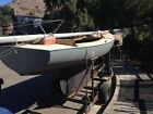 1956 full keel classic racing sailboat and trailer located in san diego
