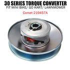 "30 Series Torque Converter 5/8"" Clutch 6"" Driven Asymmetric Go Kart Mini Bike"