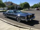 1979 Lincoln Mark Series Collector's Series Gorgeous Turn-key 79 Lincoln Continental Mark V Collectors Series CS - Moonroof