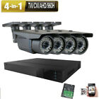 4CH 5-in-1 DVR 2.6MP 4-in-1 72IR TVI AHD Security Camera System All-in-one 7hj9