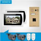 "HOMSECUR 7"" Hands-free Video Door Phone Intercom System Dual-way Intercom"