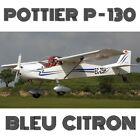 POTTIER P130UL COCCINELLE-BLEU CITRON - PLANS AND INFORMATION SET FOR HOMEBUILD