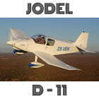 JODEL D11 – PLANS AND INFORMATION SET FOR HOMEBUILD BUILD 2 SEAT WOOD AIRCRAFT