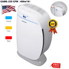 Household Air Purifier Cleaner Negative Ions Generator HEPA Smoke Odor Remover