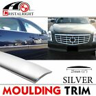 25mm Chrome Silver Car Automobiles Molding Moulding Decorate Strip Line 10ft