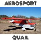 AEROSPORT QUAIL - PLANS AND INFORMATION SET-SIMPLE BUILD METAL VOLKSWAGEN ENGINE