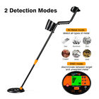 LCD Pinpoint Metal Finder Detector Outdoor COIL Gold Tester W/ Headphone Shovel