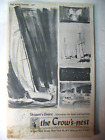 Vintage 1964 The Crow's Nest Accessory Catalog for Boats and Boatmen